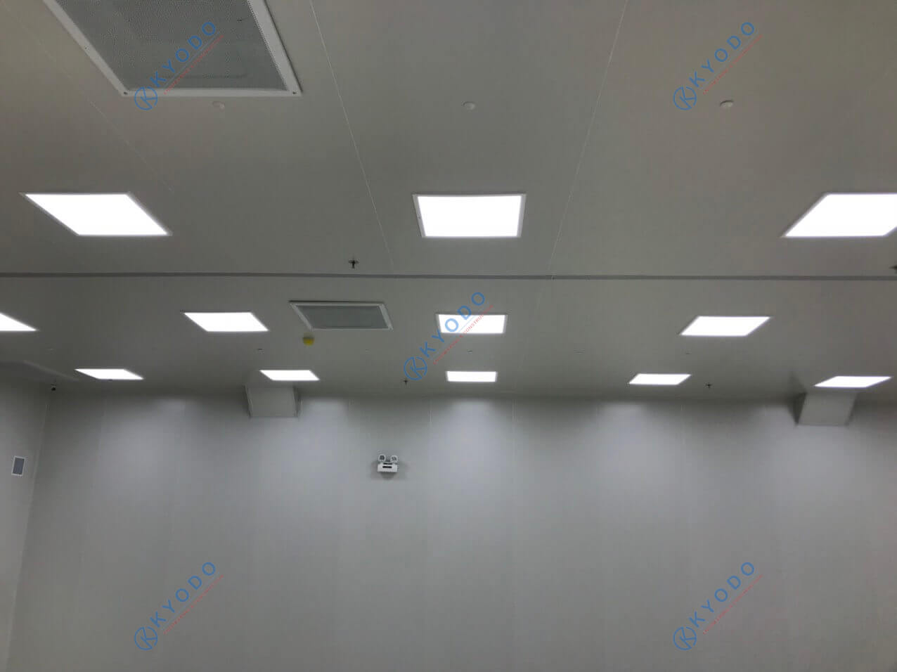 hệ thống đèn chiếu phòng sạch công nghiệp - light clean room
