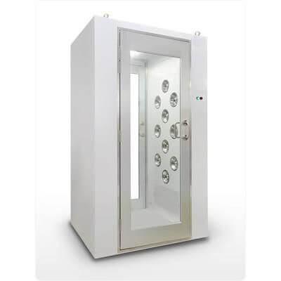 air shower cửa đơn
